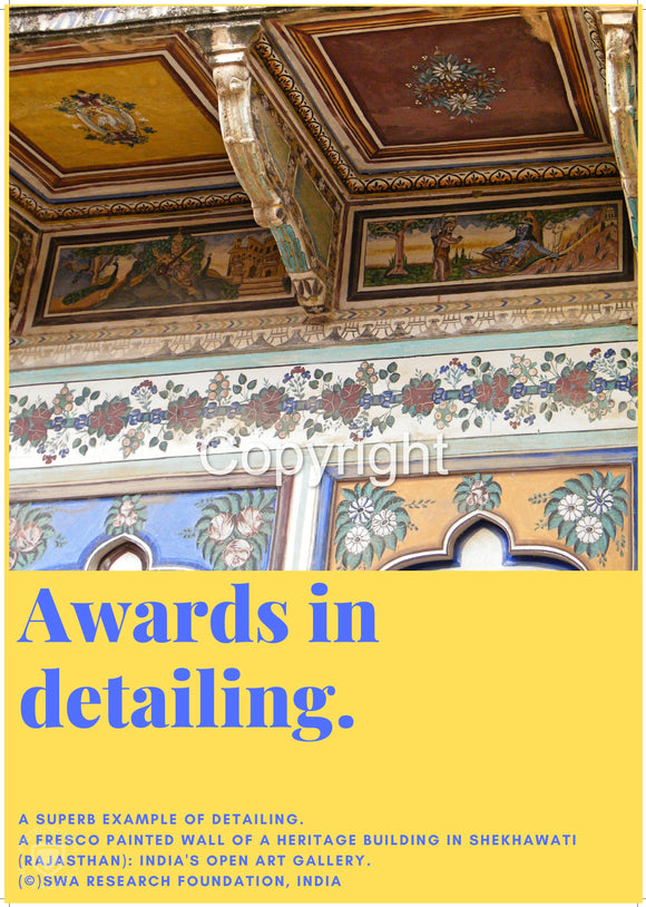 Awards in detailing.