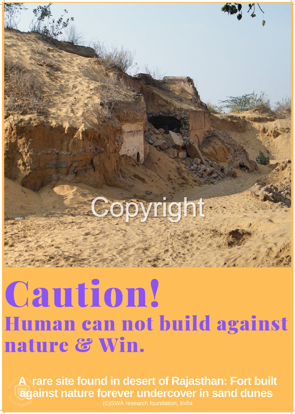 Human can not build against Nature & Win
