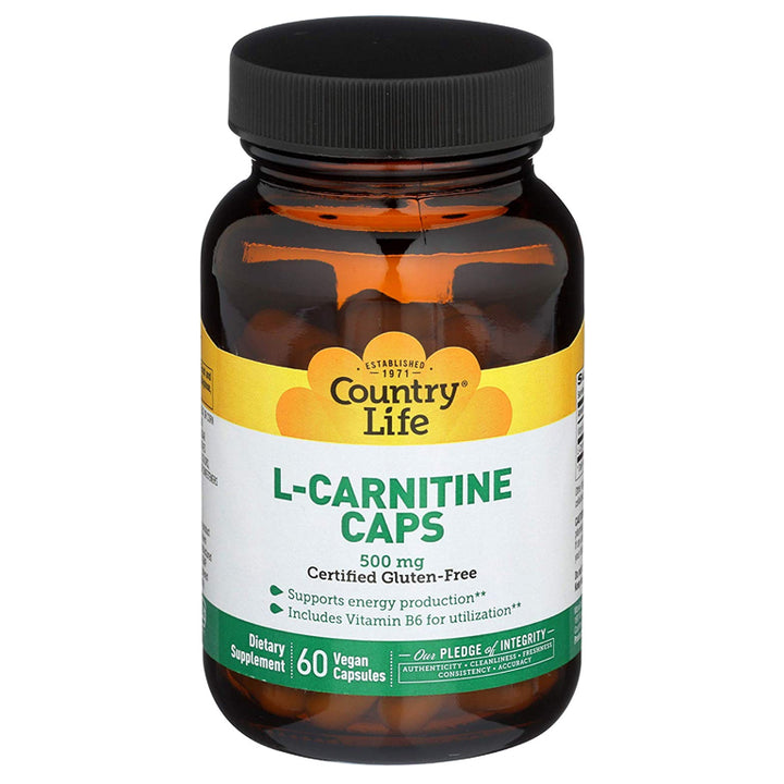 Country Life L-Carnitine 500mg 60vc
