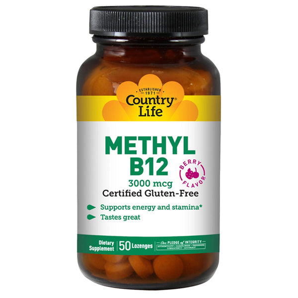 Country Life Methyl B12 3000mcg
