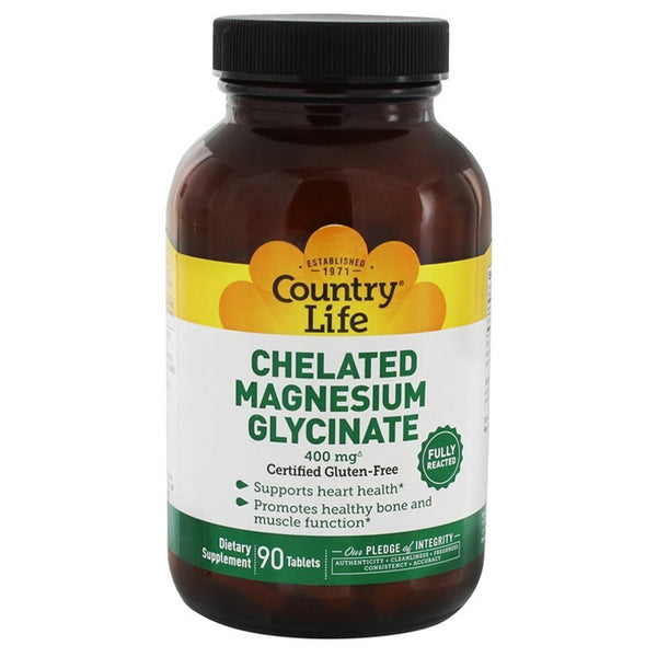 Country Life Magnesium Glycinate 90t