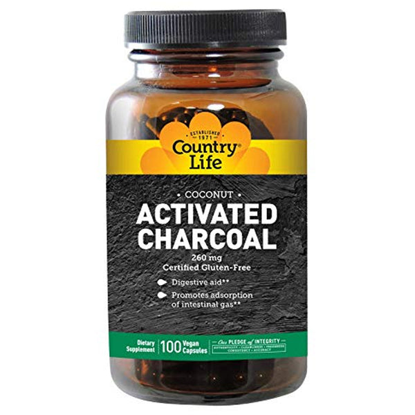 Country Life Activated Charcoal 100c