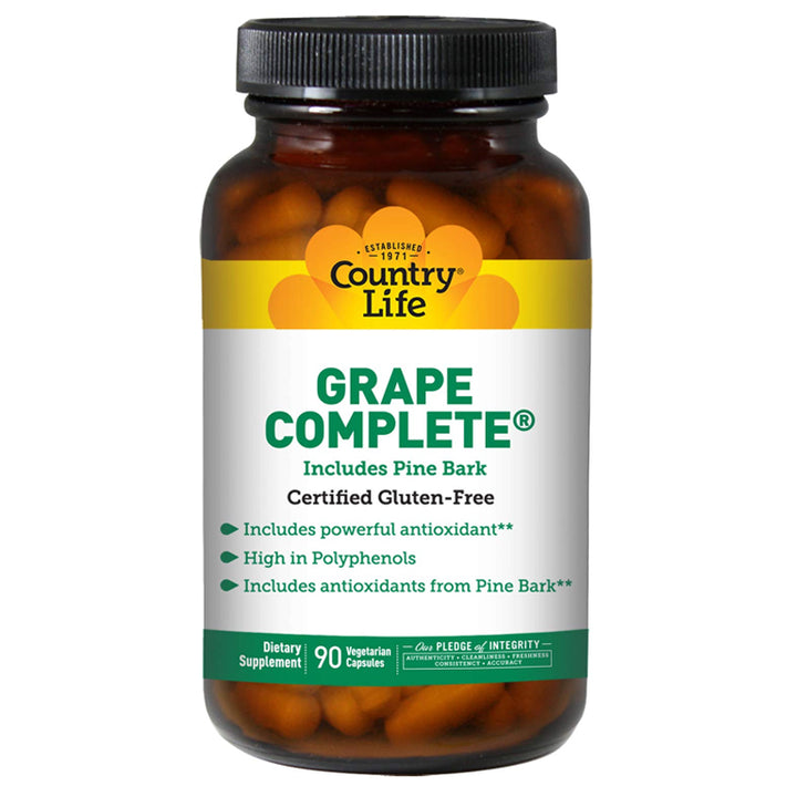 Country Life Grape Complete 90vc