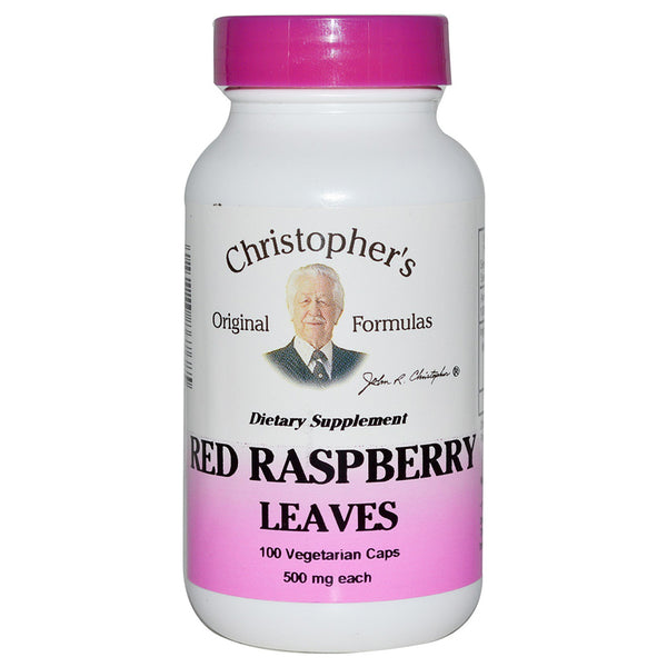 Christopher's Red Raspberry Leaves Capsule 100c