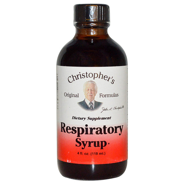Christopher's Respiratory Syrup 4 fl oz.