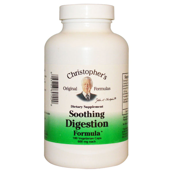 Christopher's Sooothing Digestion Formula 180c
