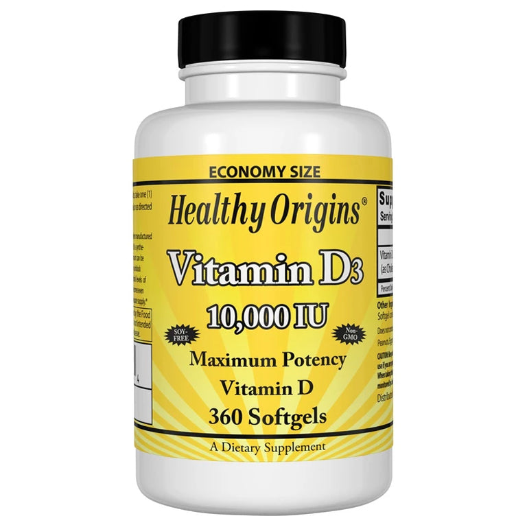 Healthy Origins D3 10,000IU 360sg
