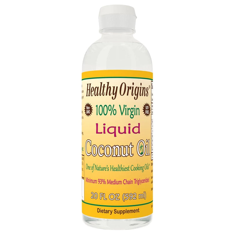Healthy Origins Coconut Oil 20oz