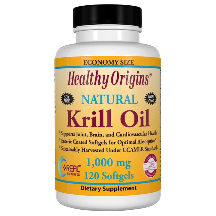 Healthy Origins Krill 1000mg 120sg