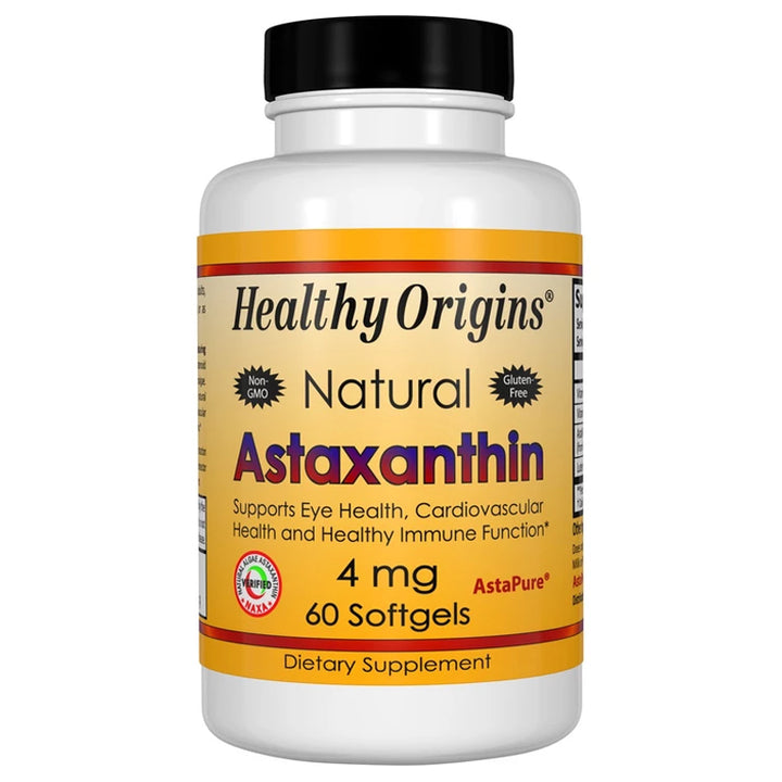 Healthy Origins Astaxanthin 4mg 60sg