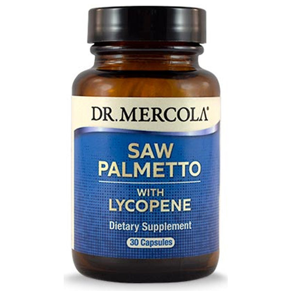 Dr. Mercola Saw Palmetto with Lycopene 30 Capsules