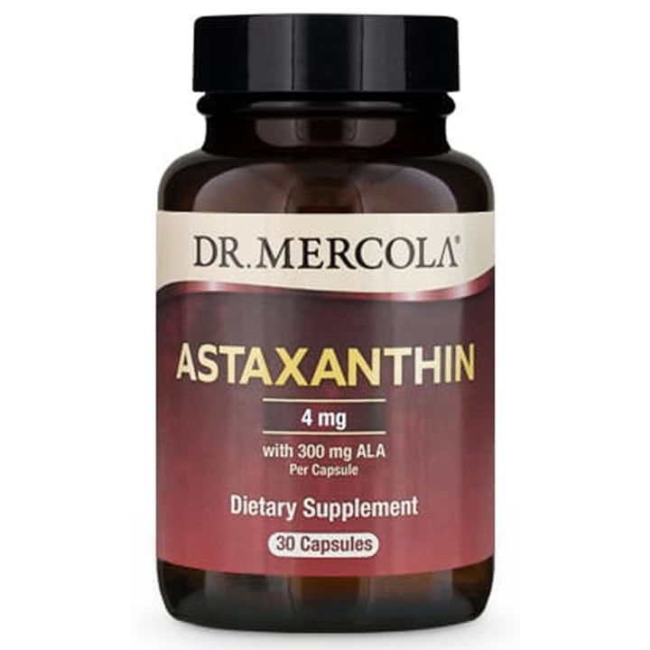 Dr. Mercola Astaxanthin with ALA ( 4mg) 30 Capsules