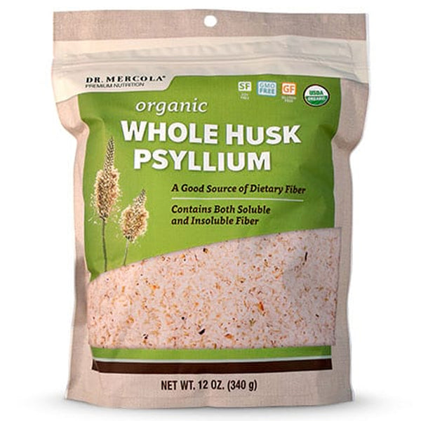 Dr. Mercola Whole Husk Psyllium