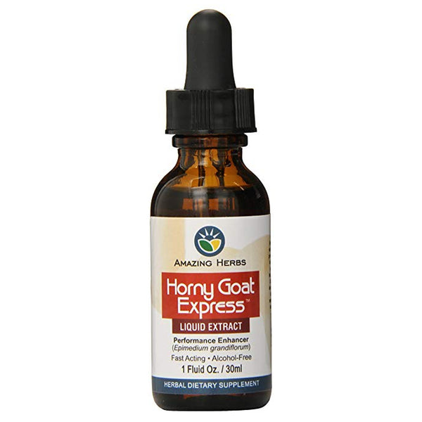 AH Horny Goat Weed Express Liquid Extract - 1oz
