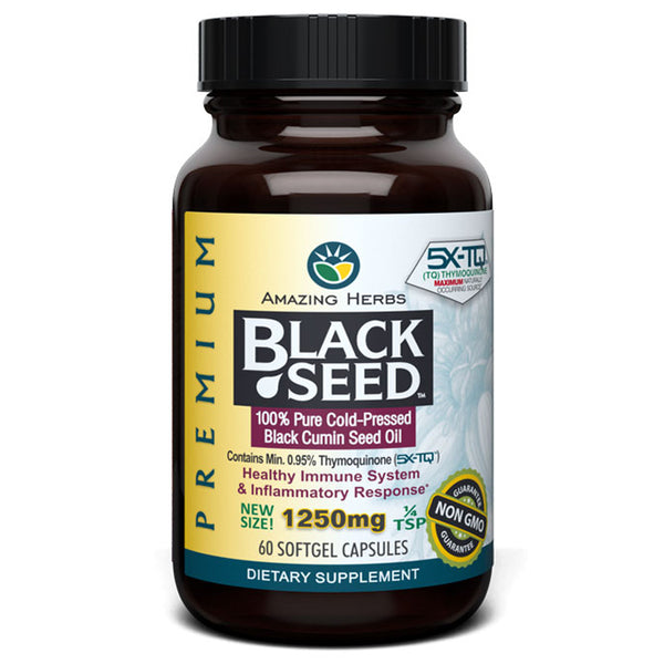 AH Premium Black Seed Oil (1250mg) - 60sg
