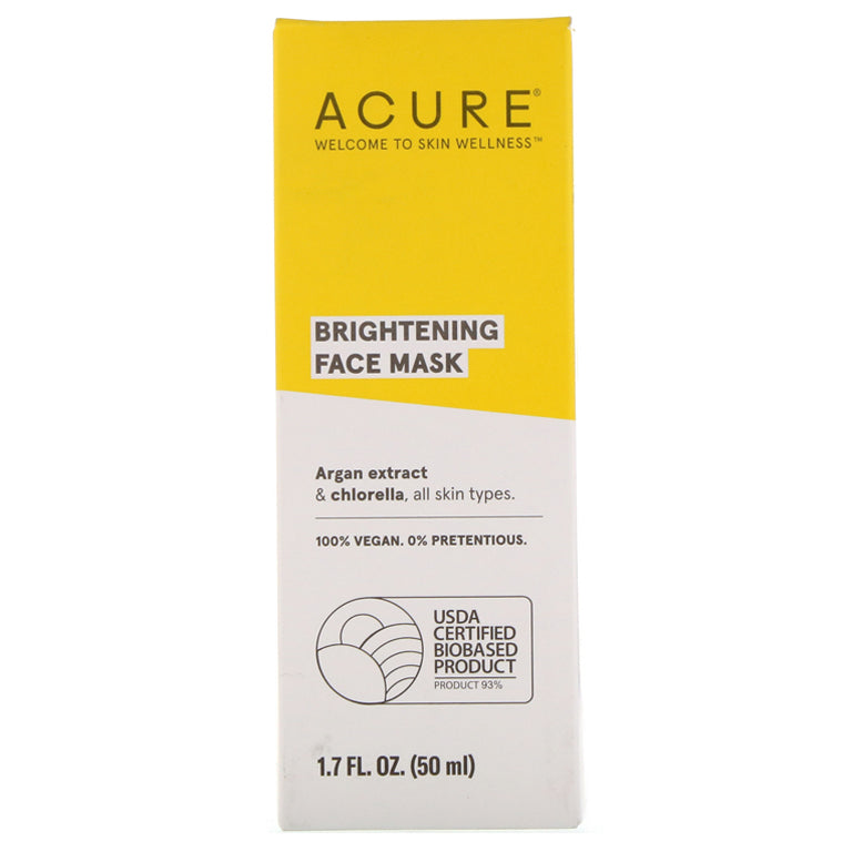 Acure Brightening Face Mask - 1.7oz