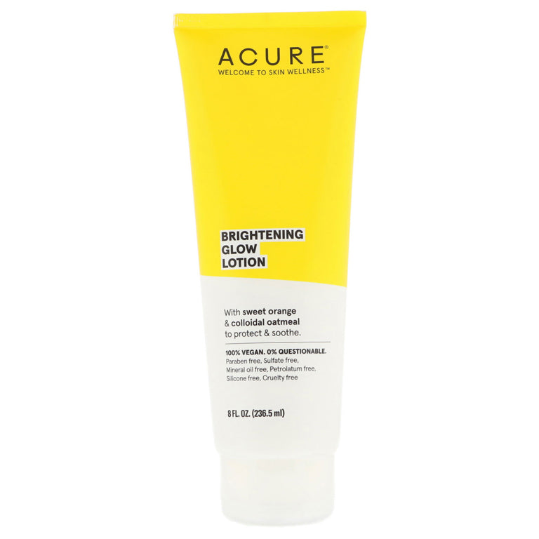 Acure Brightening Glow Lotion - 8oz