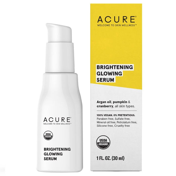 Acure Brightening Glowing Serum - 1oz