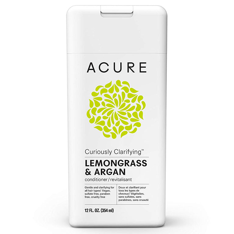 Acure Curiously Clarifying Conditioner (Lemongrass & Argan) - 12oz