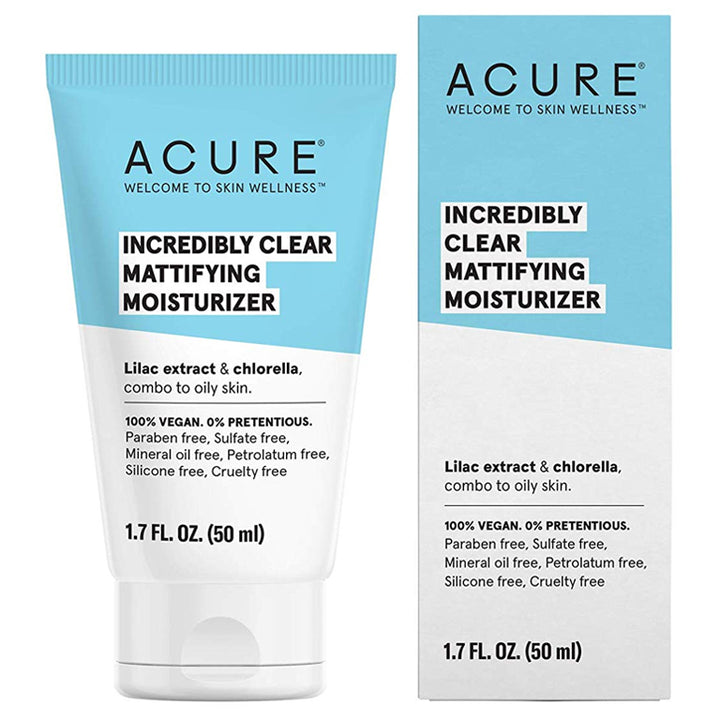 Acure Incredibly Clear Mattifying Moisturizer - 1.7oz