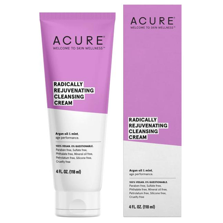 Acure Radically Rejuvenating Cleansing Cream - 4oz