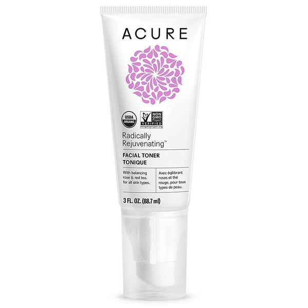 Acure Radically Rejuvenating Facial Toner - 3oz