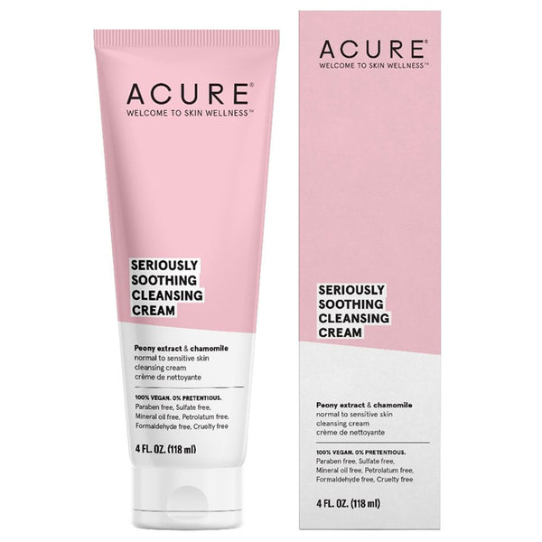 Acure Seriously Soothing Cleansing Cream - 4oz