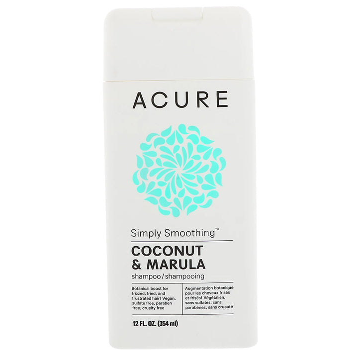 Acure Simply Smoothing Shampoo (Coconut & Marula) - 12oz