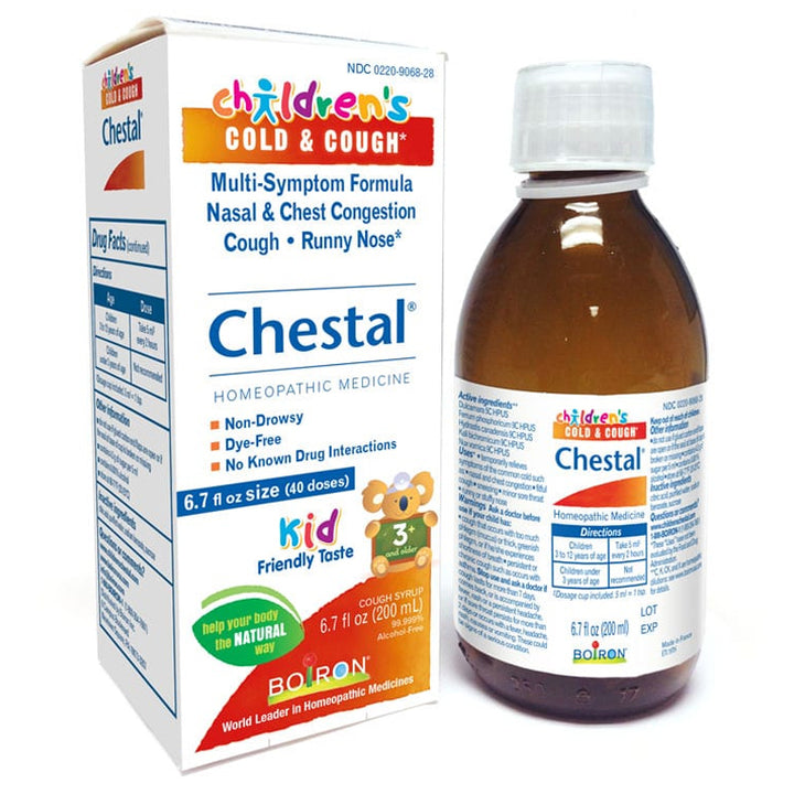 Boiron Children's Chestal Cold & Cough - 6.7oz