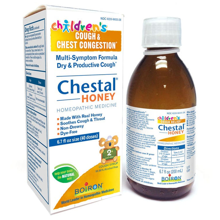 Boiron Children's Chestal Cough & Chest Congestion (Honey) - 6.7oz