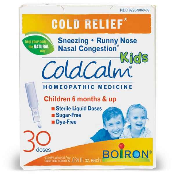 Boiron ColdCalm Kids Liquid Doses - 30doses