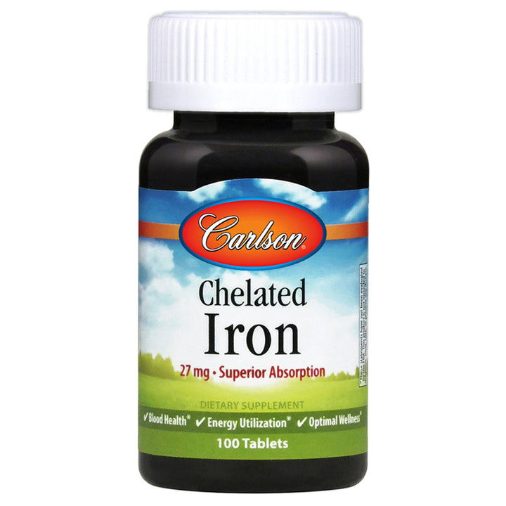 Carlson Chelated Iron 100t
