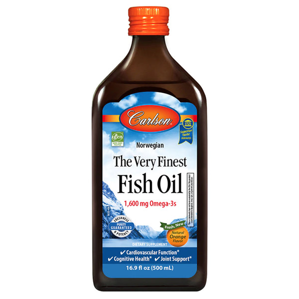 Carlson Fish Oil Lemon 500ml
