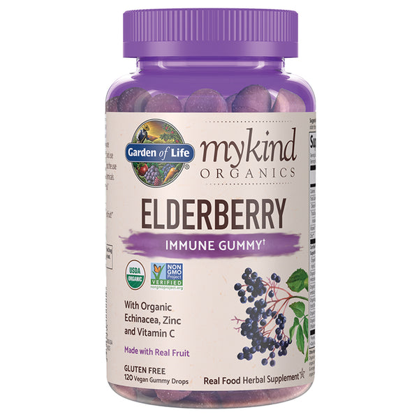 GOL Elderberry Gummy 120vg