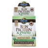 RAW Protein & greens Chocolate Cacao - 10 Packets (31g Each)