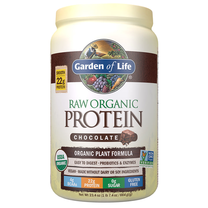 GOL Raw Protein Chocolate 23oz