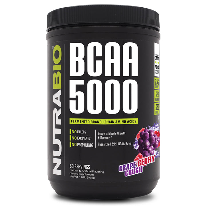 BCAA 5000 Powder (Grape) 347g