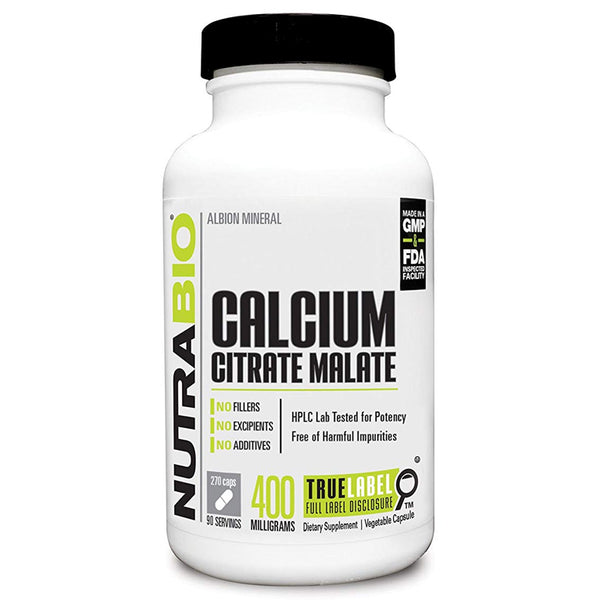 NB Calcium Citrate Malate 270vc