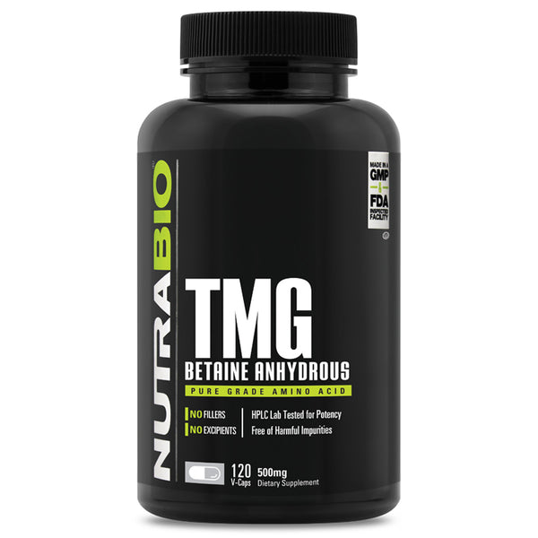 NB TMG (Betaine Anhydrous) (500mg) 120c