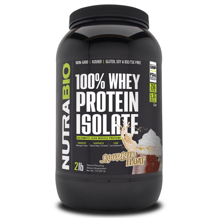 NB Whey Protein Isolate (Unflavored) 2lb