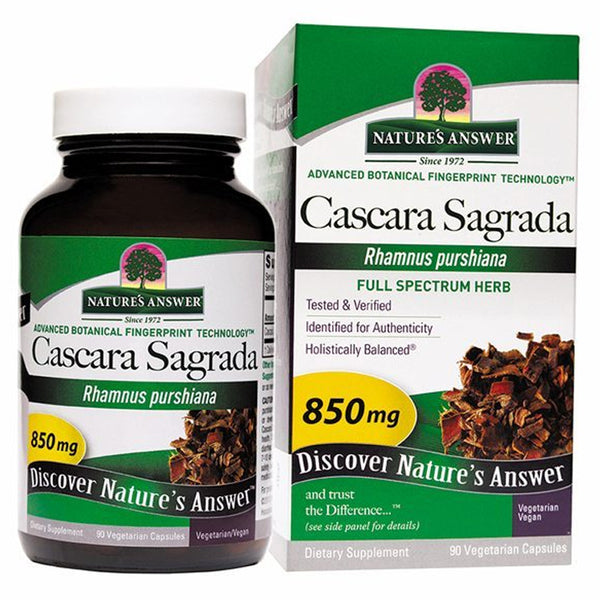 Natures Answer Cascara Sagrada 90vc