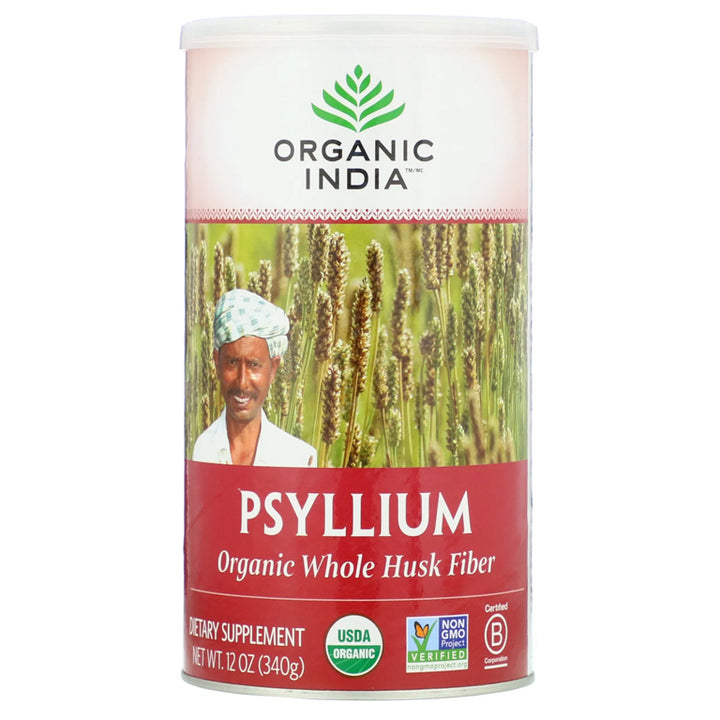 Organic India Psyllium Husk 12oz