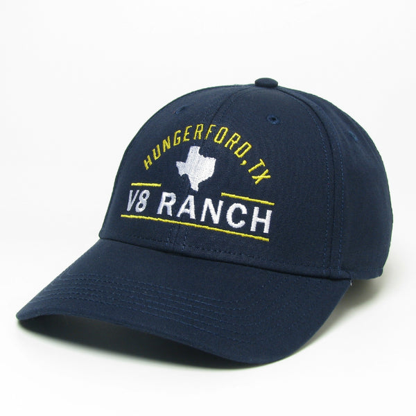 V8 Ranch Hungerford Navy Cap