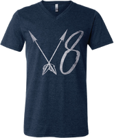 V8 Arrow V-Neck Tee