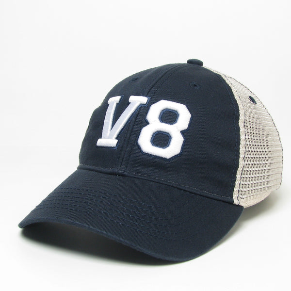 V8 Navy Trucker Cap
