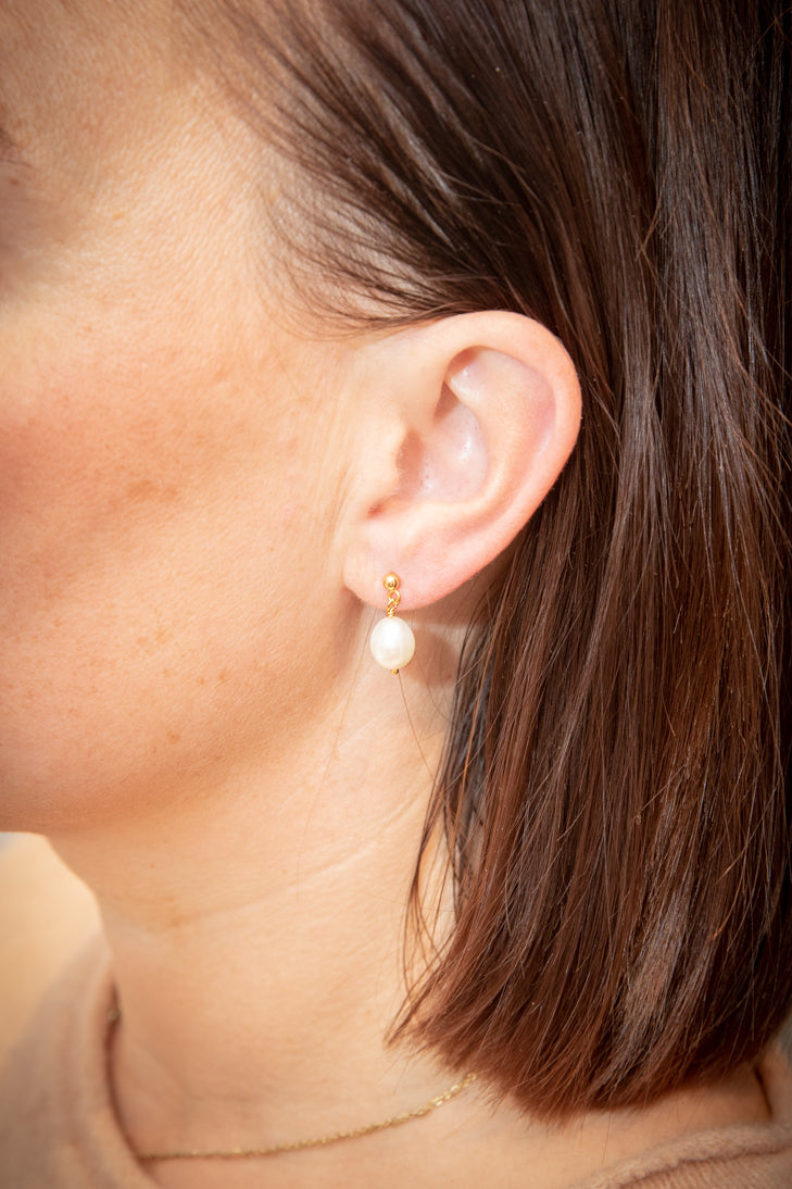 Baroque Stick Earring