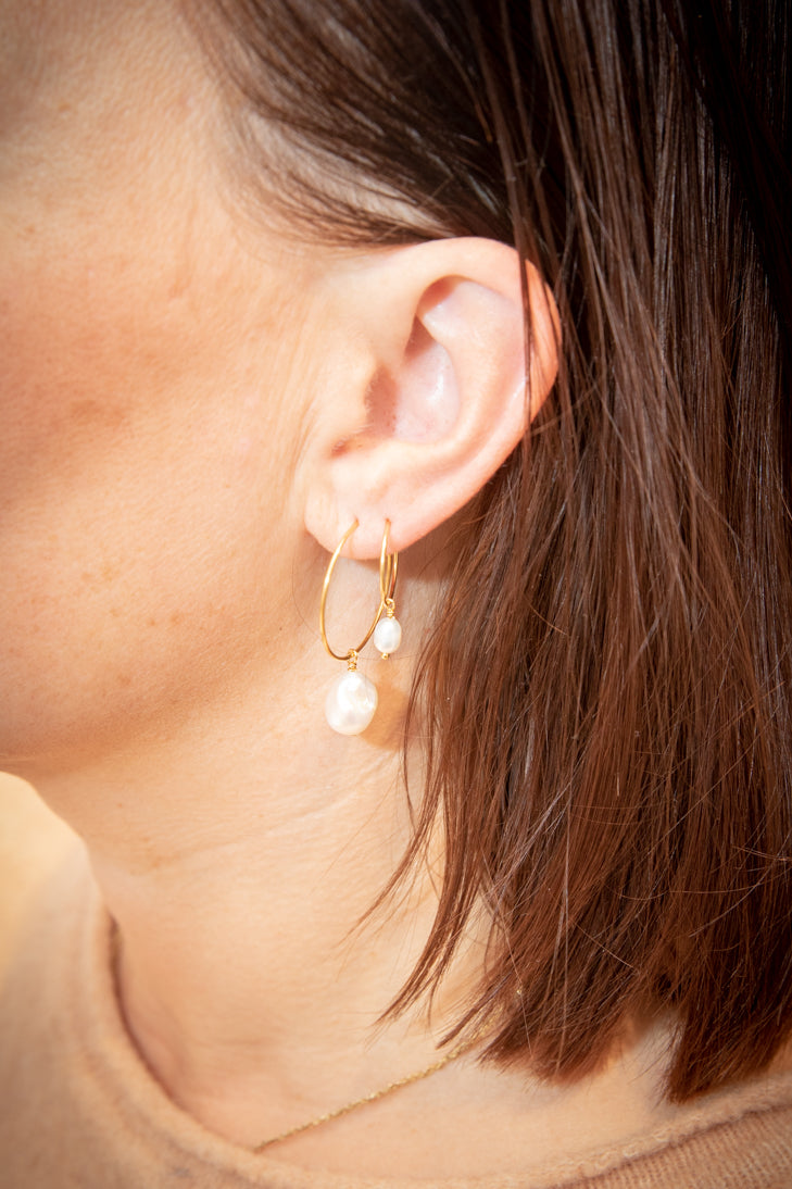 Baroque Creol Earrings