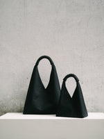 Woven Triangle Bag 36cm - All Black