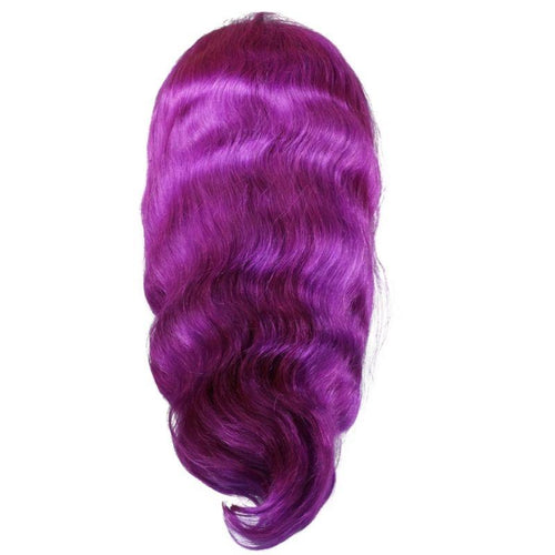 Purple Lush Front Lace Wig