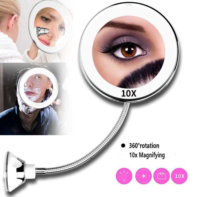 10x Magnifying Magic Makeup Mirror